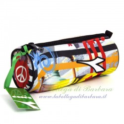 Astuccio Tombolino Diadora Graffiti Multicolor