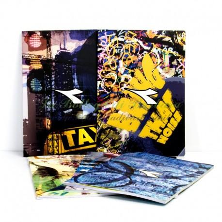 Quaderno A4 Diadora Graffiti Quadretti 4mm