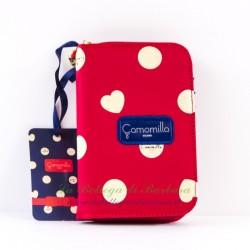 Portafoglio Lady Camomilla Rosso