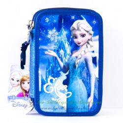 Astuccio completo Frozen Blu
