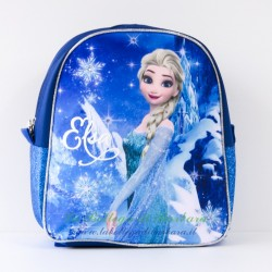 Zaino asilo Frozen Blu