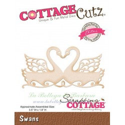 Fustella Cottage Cutz Swans Elites - Cigni