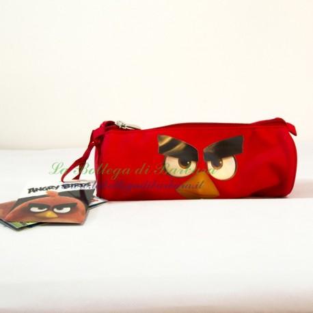 Astuccio Tombolino Angry Birds Rosso