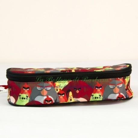 Astuccio Ovale Angry Birds