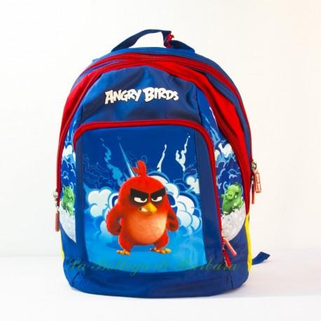 Zaino Ovetto Angry Birds Blu