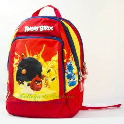 Zaino Ovetto Angry Birds Rosso