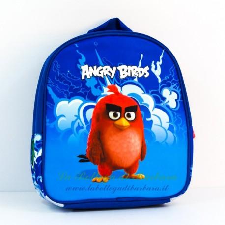 Zaino asilo Angry Birds Blu