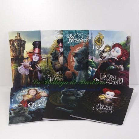 Quaderno Alice Movie A4 Quadretti 5mm