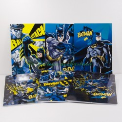 Quaderno Batman A4 Quadretti 5mm