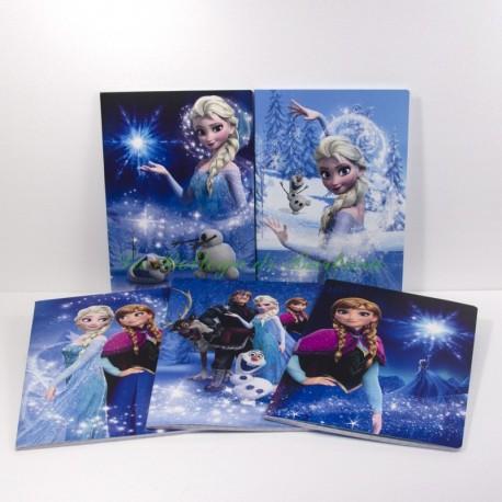 Quaderno Frozen A4 Quadretti 10mm