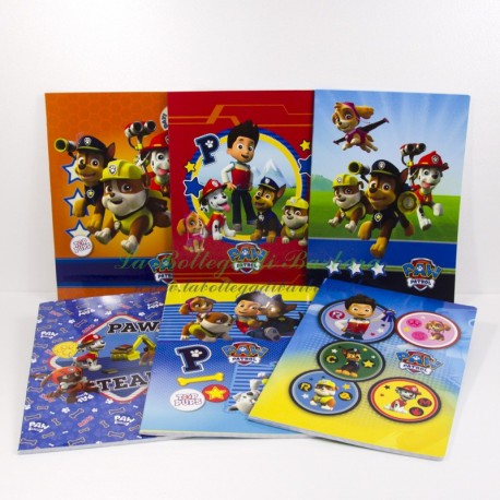 Quaderno PawPatrol A4 Quadretti 10mm