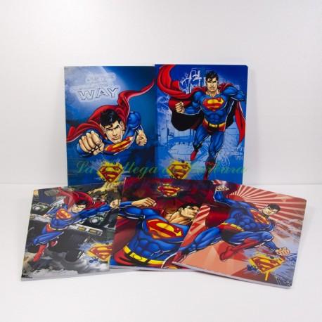 Quaderno Superman A4 Quadretti 10mm