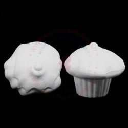 Muffin glassato di polistirolo 8hx10d Cm