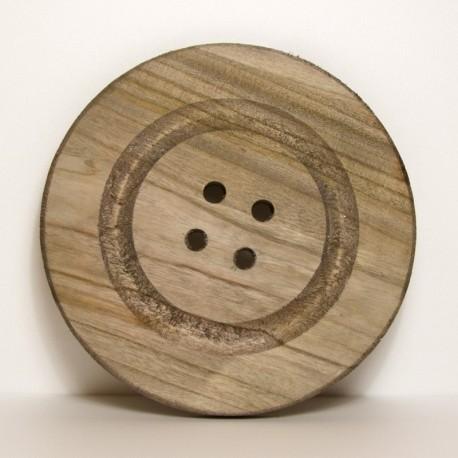 Bottone in legno D29Cm