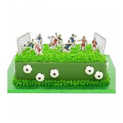 11 Pick Calcio per decorazione torte