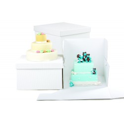 Box per dolci 30.5x30.5x15hCm