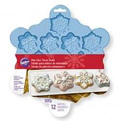 Stampo in silicone 12 stelle di ghiaccio