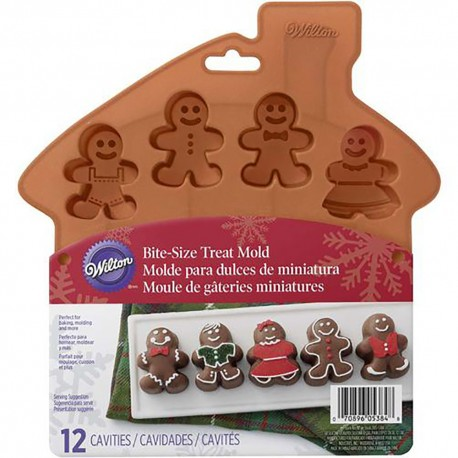 Stampo in silicone 12 gingerbread