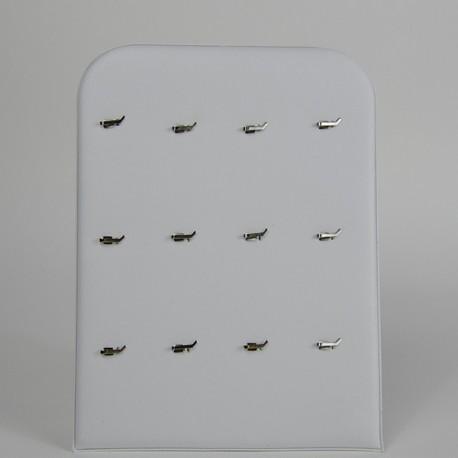 Espositore pendenti. Bianco