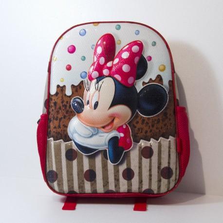 Zaino 3D Minnie Infantil