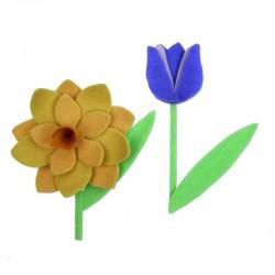 "Fustella BigZ L ""Spring Flowers"""