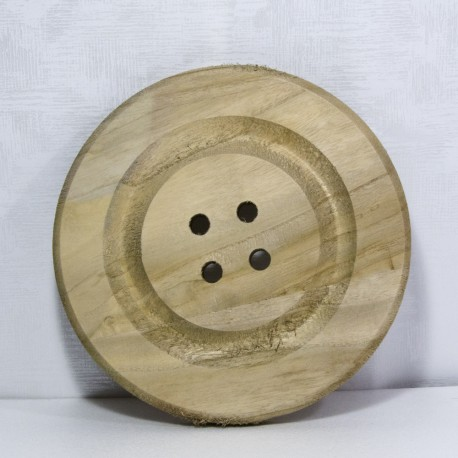 Bottone in legno D24Cm