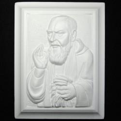 Quadro Padre Pio di polistirolo