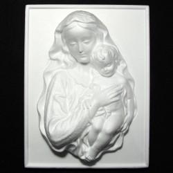 Quadro della Madonna di polistirolo
