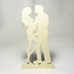 Innamorati in legno