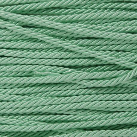 """Cordoncino 3 capi 5mm """"Verde acqua"""""""