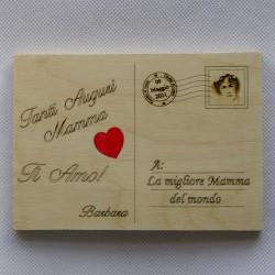 Cartolina festa della Mamma