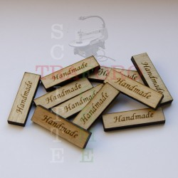"Targhetta ""Handmade"""