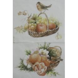 """Carta di riso pittorica """"Serie 11"""""""
