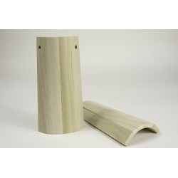 Tegola in legno 14x7x6