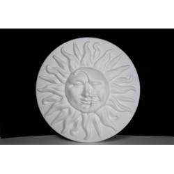 Sole e Luna in polistirolo 40Cm