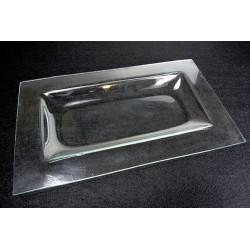 Vassoio di vetro