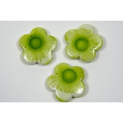 """Perla fiore """"Verde acido"""""""
