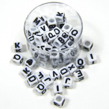 """Lettere cubetto """"Bianco/Nero"""""""