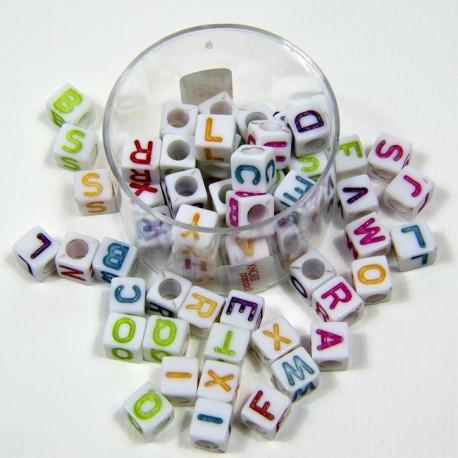 Lettere cubetto multicolore