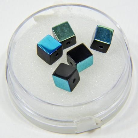 Cubetti di vetro nero