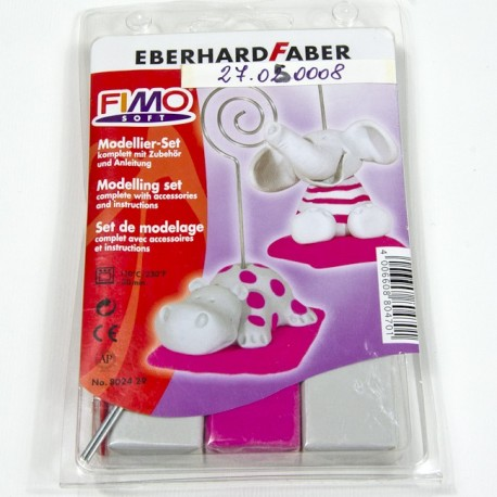 "Fimo Set ""Card Holder"""