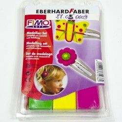 "Fimo Set ""Hair Slides"""